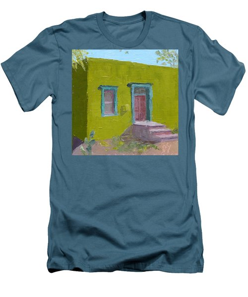 The Green House Men's T-Shirt (Slim Fit) by Susan Woodward