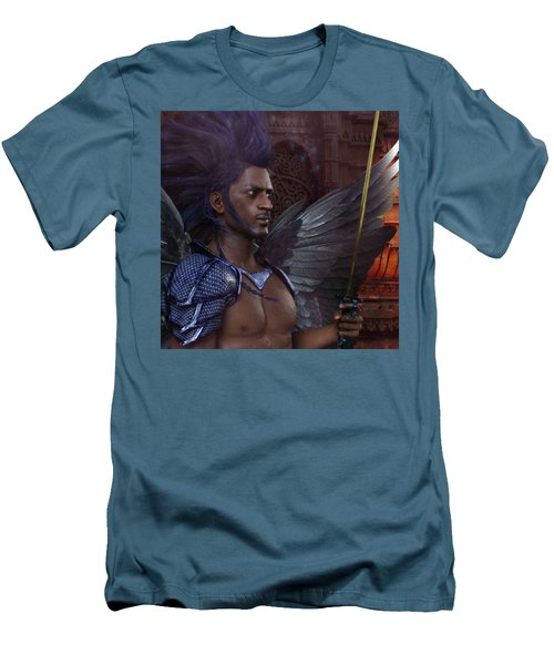The Guardian 3 Men's T-Shirt (Slim Fit) by Suzanne Silvir