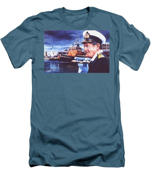 The Harbourmaster Men's T-Shirt (Slim Fit) by Tim Johnson
