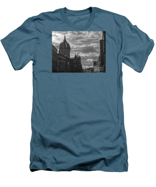The High Kirk Of Edinburgh Men's T-Shirt (Slim Fit) by Amy Fearn
