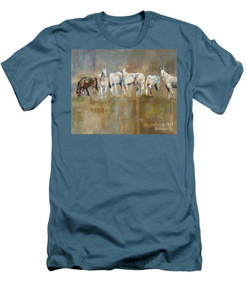 The Horizon Line Men's T-Shirt (Slim Fit) by Frances Marino