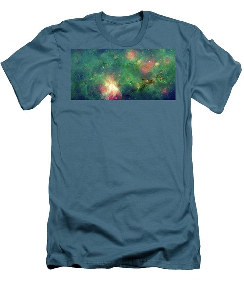 Men's T-Shirt (Slim Fit) featuring the photograph The Invisible Dragon by NASA JPL-Caltech