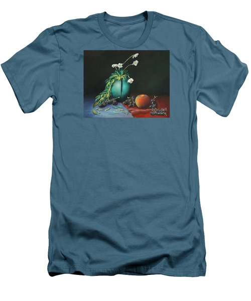 The Jade Vase And Jasmine Men's T-Shirt (Athletic Fit)