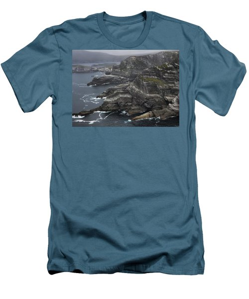 The Kerry Cliffs, Ireland Men's T-Shirt (Athletic Fit)
