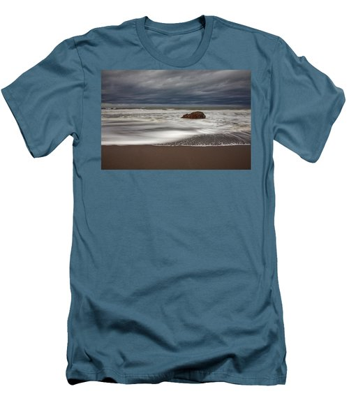 The Last Holdout Men's T-Shirt (Slim Fit) by Mark Alder