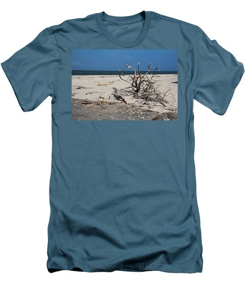 Men's T-Shirt (Athletic Fit) featuring the photograph The Laws Of Gravity by Michiale Schneider