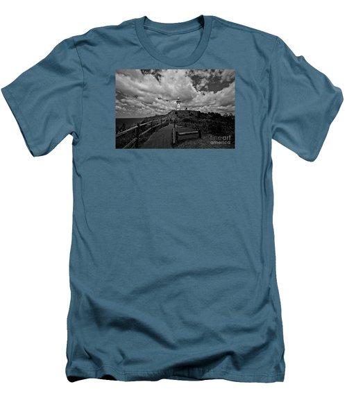 The Light House Men's T-Shirt (Slim Fit) by Gary Bridger