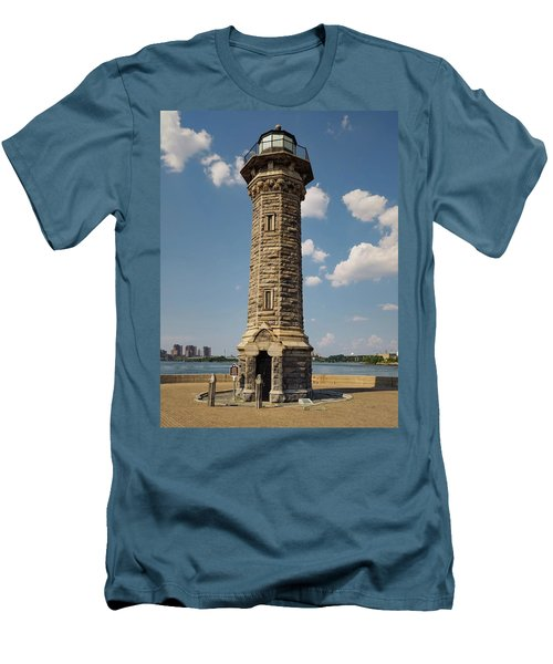 The Lighthouse Roosevelt Island Men's T-Shirt (Athletic Fit)