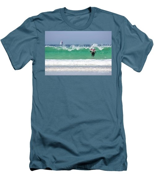 Men's T-Shirt (Slim Fit) featuring the photograph The Little Mermaid by Terri Waters