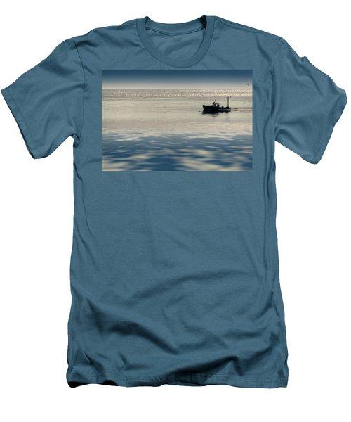 The Lobster Boat Men's T-Shirt (Slim Fit) by Rick Berk