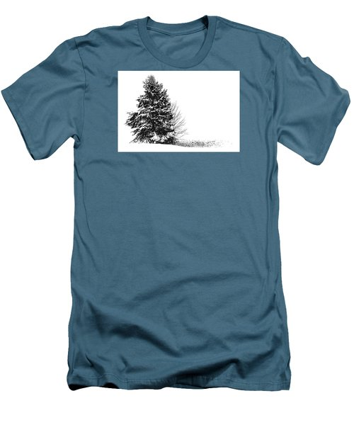 The Lone Pine Men's T-Shirt (Slim Fit) by Jim Rossol