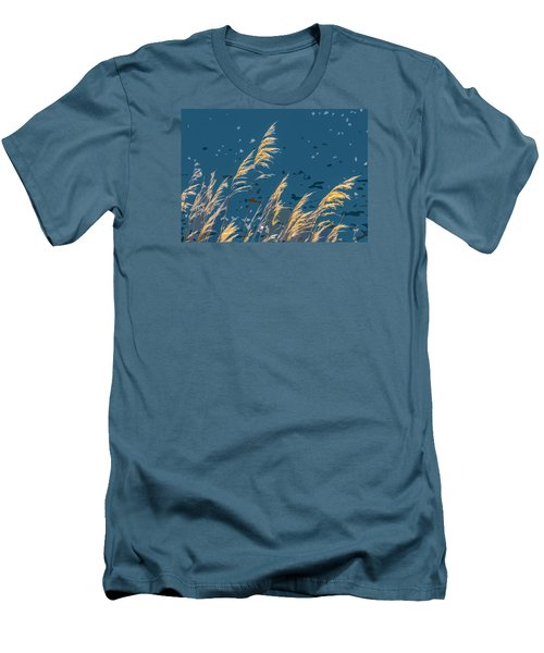 The Madison In Bear Trap Canyon Men's T-Shirt (Athletic Fit)