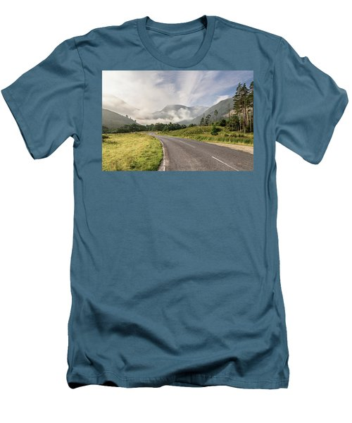 The Magic Morning Men's T-Shirt (Slim Fit) by Sergey Simanovsky