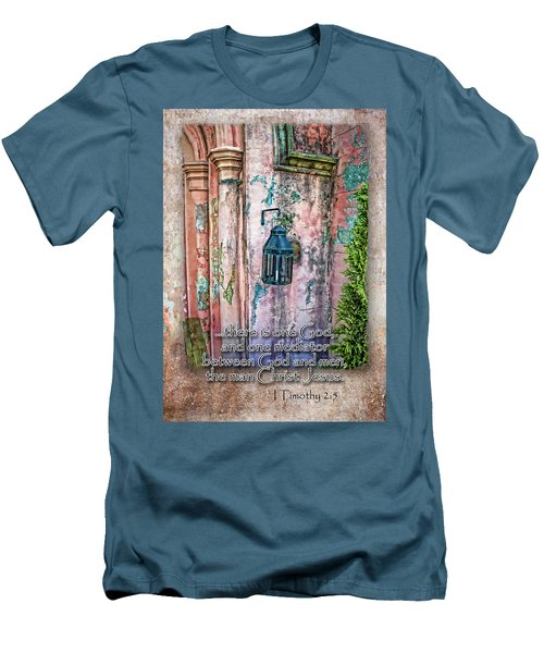 The Mediator Men's T-Shirt (Slim Fit) by Larry Bishop