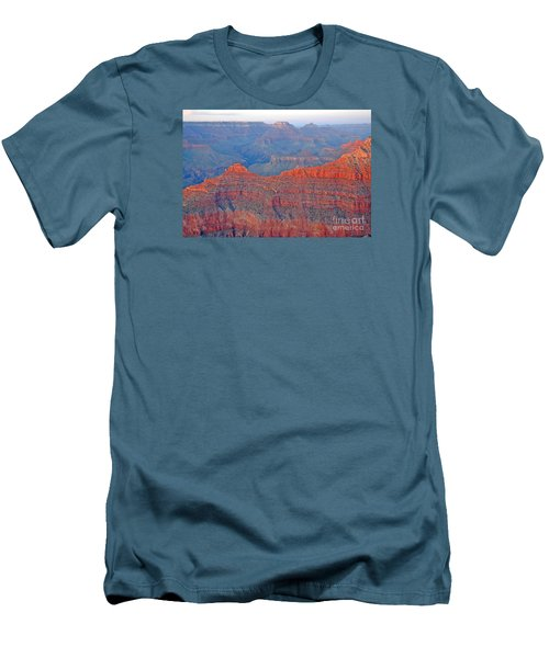 The Mighty Grand Canyon Men's T-Shirt (Slim Fit) by Nick  Boren