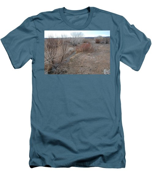 Men's T-Shirt (Slim Fit) featuring the photograph The Mighty Santa Fe River by Rob Hans