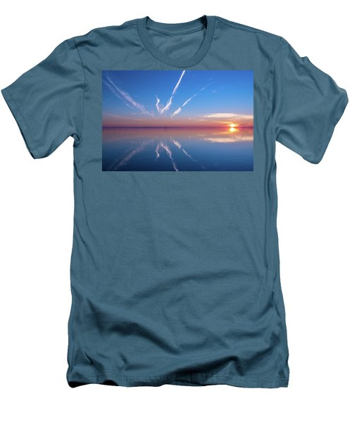 Men's T-Shirt (Slim Fit) featuring the photograph The Mirror by Thierry Bouriat