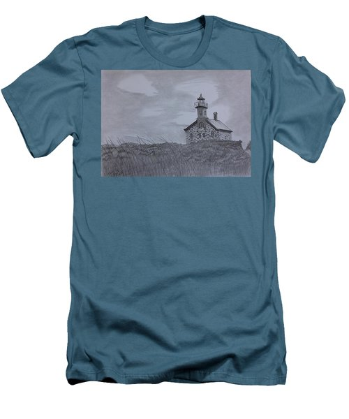 The North  Light  Men's T-Shirt (Slim Fit) by Tony Clark