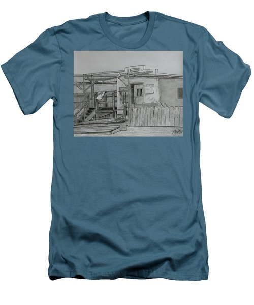 The Old  Jail  Men's T-Shirt (Slim Fit) by Tony Clark