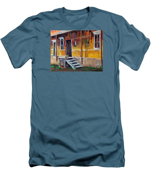 The Old Warehouse Men's T-Shirt (Slim Fit) by Jim Phillips