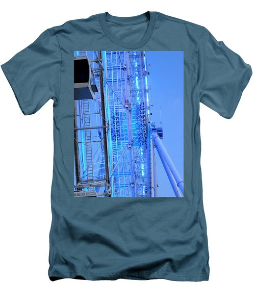 Men's T-Shirt (Slim Fit) featuring the photograph The Orlando Eye 002 by Chris Mercer