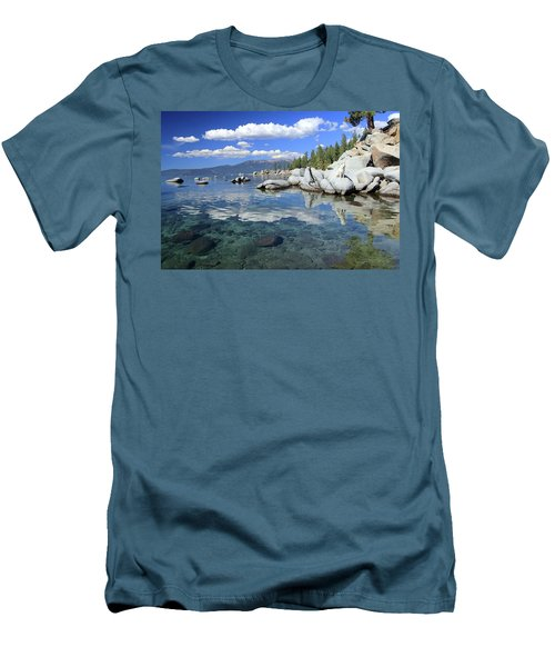 Men's T-Shirt (Athletic Fit) featuring the photograph The Path To Reflection by Sean Sarsfield