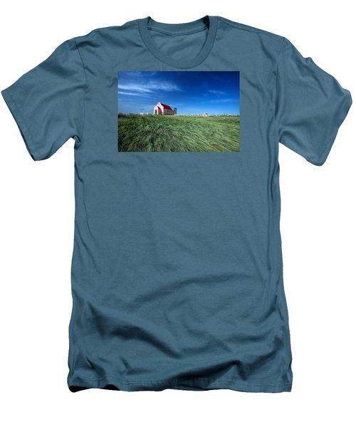 The Pink Church Men's T-Shirt (Slim Fit) by Todd Klassy