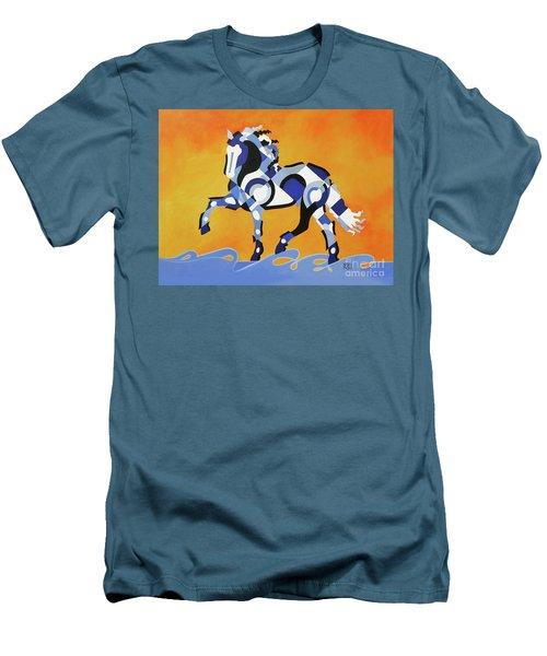 The Power Of Equus Men's T-Shirt (Athletic Fit)