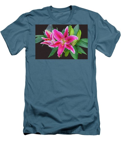 The Pulchritude Of Lady Lily Men's T-Shirt (Athletic Fit)