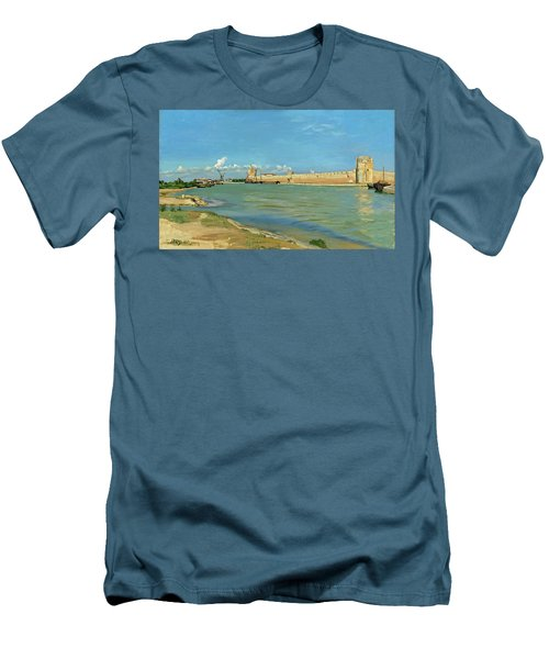 The Ramparts At Aigues Mortes Men's T-Shirt (Athletic Fit)
