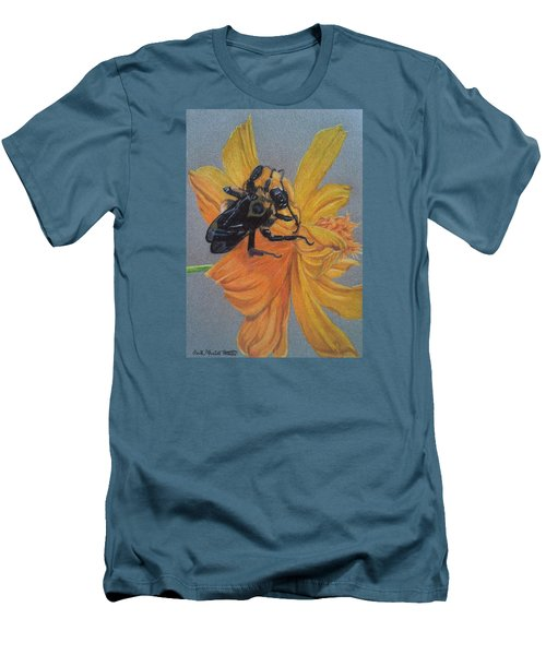 The Resting Place Men's T-Shirt (Slim Fit) by Anita Putman