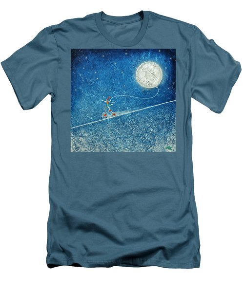 The Robbery Of The Moon Men's T-Shirt (Athletic Fit)
