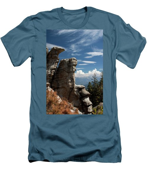 The Rock Formation Men's T-Shirt (Athletic Fit)