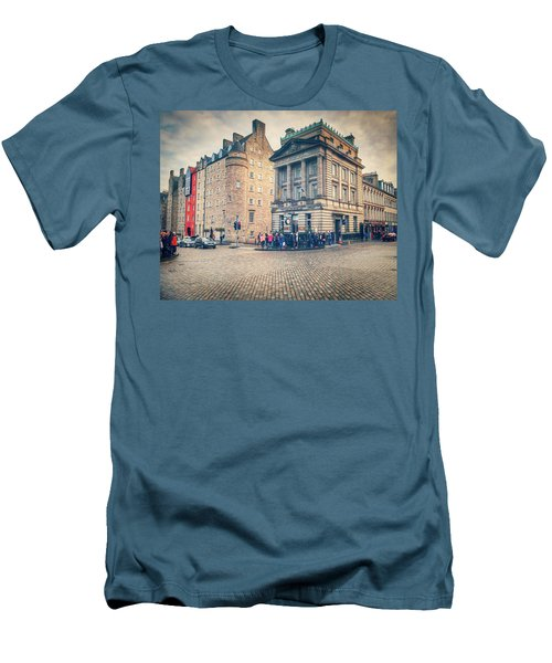 The Royal Mile Men's T-Shirt (Slim Fit) by Ray Devlin