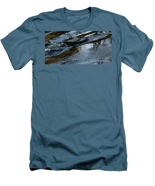 Men's T-Shirt (Slim Fit) featuring the photograph The Star Of Love And Dreams by Linda Shafer
