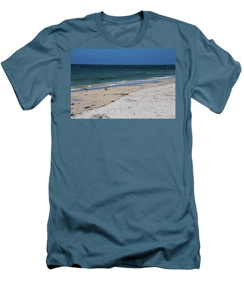 Men's T-Shirt (Athletic Fit) featuring the photograph The Stuff That Never Happened by Michiale Schneider