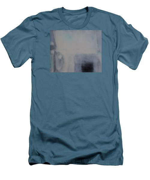 Men's T-Shirt (Slim Fit) featuring the painting the Sublimation of ideas by Min Zou