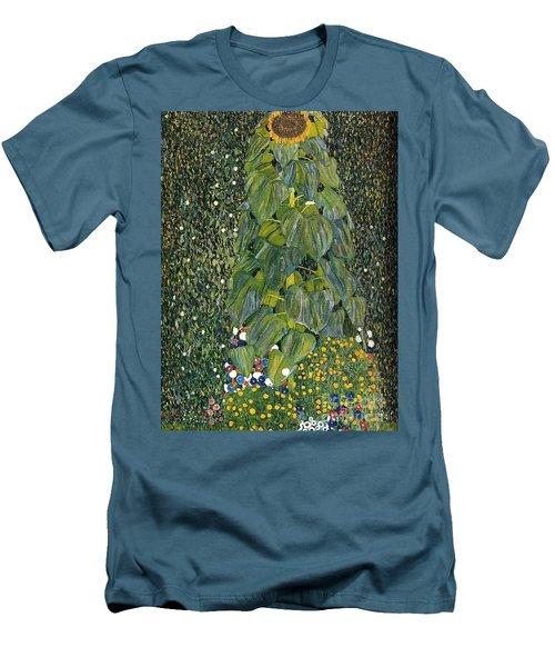 The Sunflower Men's T-Shirt (Slim Fit) by Klimt