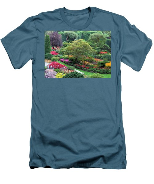 The Sunken Garden At Dusk Men's T-Shirt (Athletic Fit)
