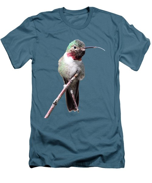 Men's T-Shirt (Slim Fit) featuring the photograph The Taste Of Air by Shane Bechler