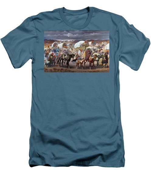 The Trail Of Tears Men's T-Shirt (Athletic Fit)