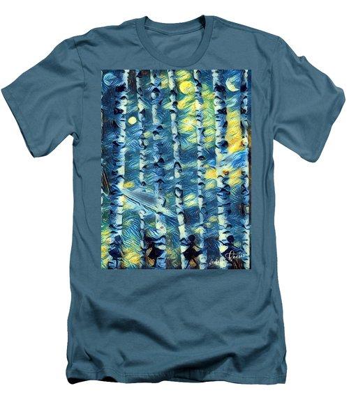 The Tree Children Men's T-Shirt (Slim Fit) by Vennie Kocsis