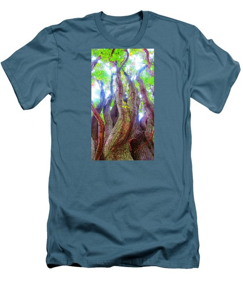 The Tree Of Salem Men's T-Shirt (Slim Fit) by Patricia Arroyo