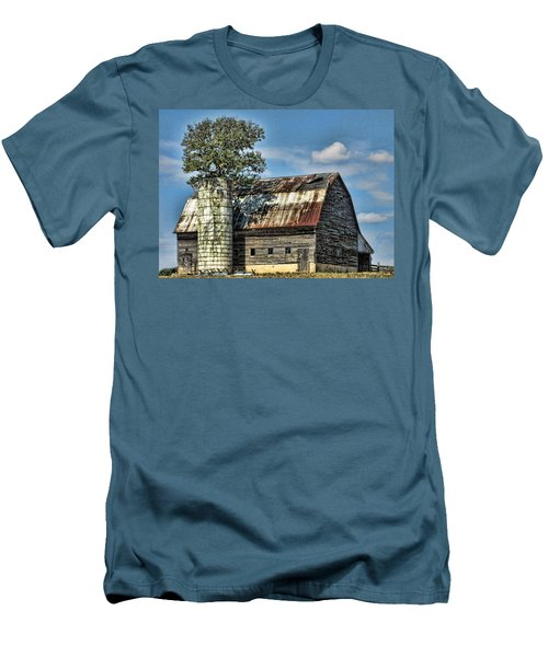 The Tree Silo Men's T-Shirt (Athletic Fit)