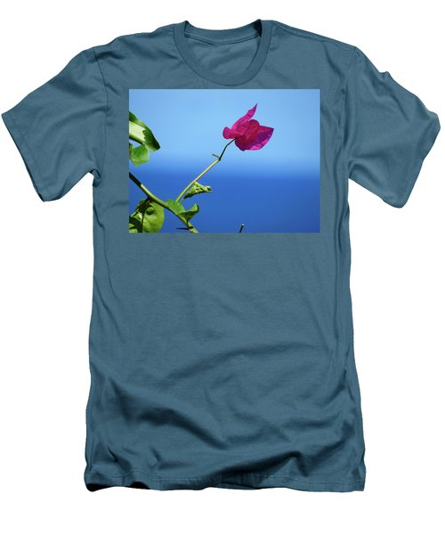 The Tropical Bloom Men's T-Shirt (Athletic Fit)