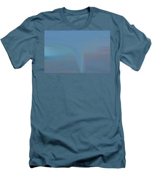Men's T-Shirt (Slim Fit) featuring the painting The Twister by Dan Sproul