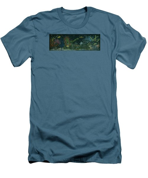 The Visitor Men's T-Shirt (Slim Fit) by Dawn Fairies