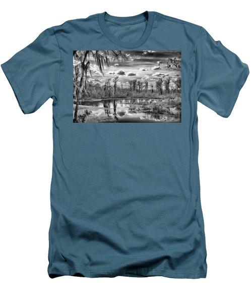 The Wetlands Men's T-Shirt (Slim Fit) by Howard Salmon