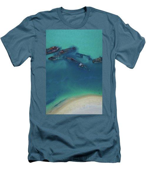 The Wrecks Men's T-Shirt (Athletic Fit)