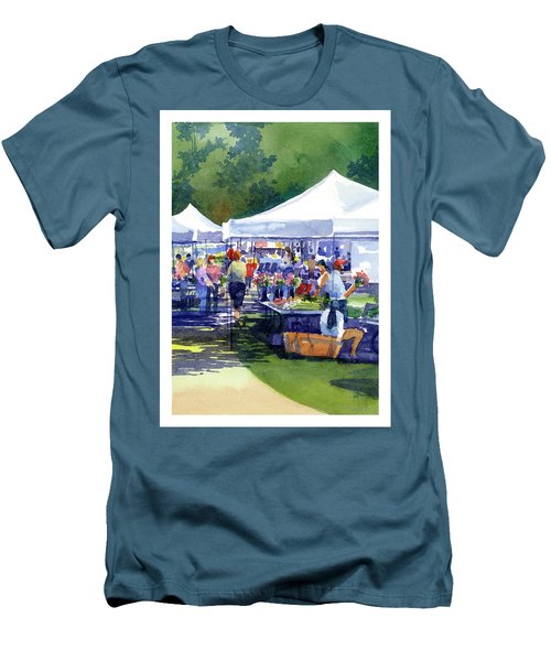Theinsville Farmers Market Men's T-Shirt (Athletic Fit)